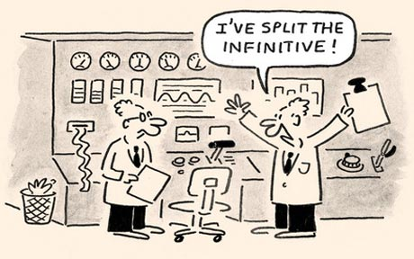 Infinitives To Split Or To Not Split Standard American English